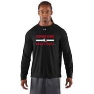 SLS Under Armour Men's Locker Long Sleeve T-Shirt - Black (SLS-001-BK)