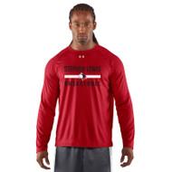 SLS Under Armour Men's Locker Long Sleeve T-Shirt - Red (SLS-001-RE)