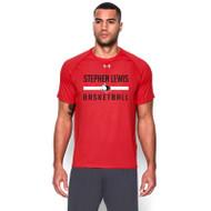 SLS Under Armour Men's Short Sleeve Locker Tee - Red (SLS-002-RE)