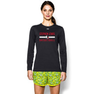 SLS Under Armour Women's Locker Long Sleeve T-Shirt - Black (SLS-022-BK)