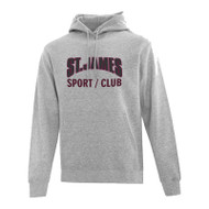 JCS ATC Everyday Fleece Hooded Sweatshirt - Athletic Heather (JCS-014-AH)