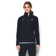 GPH Under Armour Women's Squad Woven Warm-Up Jacket - Black (GPH-021-BK)