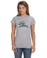 Calderstone Gildan Softstyle® 4.5 oz. Women's T-Shirt - Grey