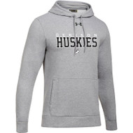 DHS Under Armour Men's Hustle Fleece Hoodie - True Grey (DHS-003-TG)