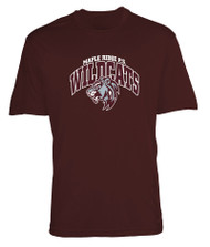 Maple Ridge Wildcats ATC Pro Team Adult Tee - Maroon (MRW-012-MR)