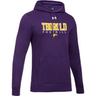 TSS Under Armour Men's Hustle Fleece Hoody - Purple (TSS-001-PU)
