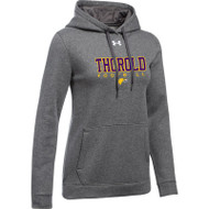 TSS Under Armour Women's Hustle Fleece Hoody - Carbon (TSS-021-CB)