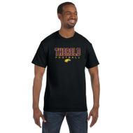 TSS Gildan Men's Cotton T shirt - Black (TSS-013-BK)