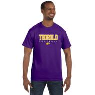 TSS Gildan Men's Cotton T shirt - Purple (TSS-013-PU)