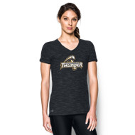 GBS Under Armour Women's Stadium T-Shirt - Black (GBS-022-BK)