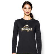GBS Under Armour Women's Locker Long Sleeve T-Shirt - Black (GBS-023-BK)