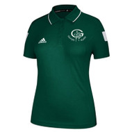 GCVI Adidas Women's Climalite Shockwave Sideline Polo - Forest