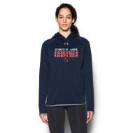 SBA Under Armour Women's Double Threat Armour Fleece Hoody - Optional (SBA-067)