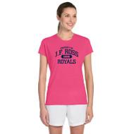 JFR Gildan Ladies' Performance Ladies' T-Shirt - Safty Pink (JFR-147-SP)