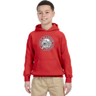 JMS Gildan Heavy Blend Youth Hooded Sweatshirt - Red (JMS-046-RE)