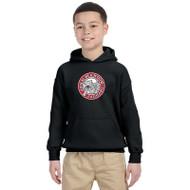 JMS Gildan Heavy Blend Youth Hooded Sweatshirt - Black (JMS-046-BK)