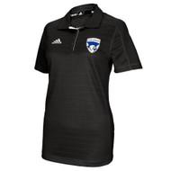 FBS Adidas Women's Climalite adiSelect Sideline Polo - Black