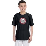 JMS Gildan Performance Youth T-Shirt - Black (JMS-047-BK)