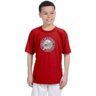 JMS Gildan Performance Youth T-Shirt - Red (JMS-047-RE)