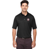 JMS Ash City - Core 365 Men's Origin Performance Piqué Polo - Black (JMS-015-BK)