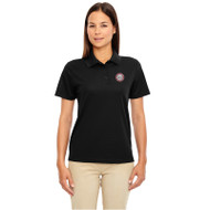 JMS Ash City - Core 365 Ladies' Origin Performance Piqué Polo - Black (JMS-032-BK)
