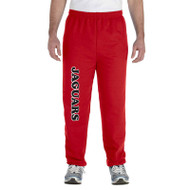 JMS Gildan Adult Heavy Blend Adult 50/50 Sweatpants - Red (JMS-017-RE)