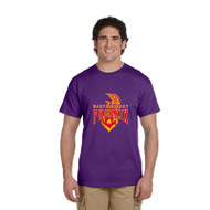 MSP Gildan Men's Ultra Cotton T Shirt - Purple