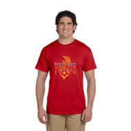 MSP Gildan Men's Ultra Cotton T Shirt - Red