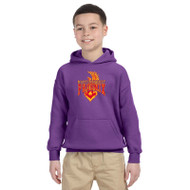 MSP Gildan Youth Pullover Hooded Sweatshirt - Purple (MSP-048-PU)