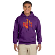 MSP Gildan Men's Pullover Hooded Sweatshirt - Purple