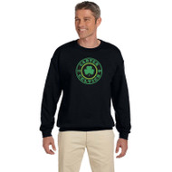 CCS Gildan Men's 50/50 Fleece Crewneck Sweatshirt - Black (CCS-011-BK)