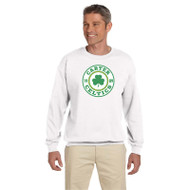 CCS Gildan Men's 50/50 Fleece Crewneck Sweatshirt - White (CCS-011-WH)