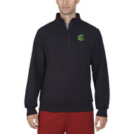 CCS Russell Men's Dri Power Fleece ¼ Zip Jacket - Black (CCS-013-BK)