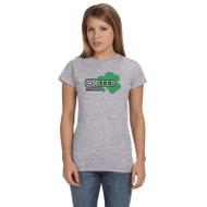 CCS Gildan Women's Softstyle T-Shirt - Sport Grey (CCS-031-SG)