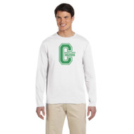CCS Gildan Men's Softstyle Long Sleeve T-Shirt - White (CCS-015-WH)