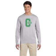 CCS Gildan Men's Softstyle Long Sleeve T-Shirt - Sport Grey (CCS-015-SG)