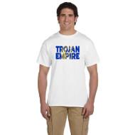 BCS Gildan Men's Ultra Cotton Short Sleeve T-Shirt - White (BCS-014-WH)