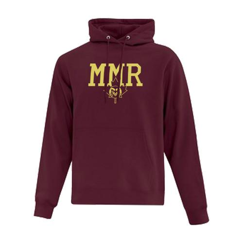 MMR ATC Everyday Fleece Hooded Sweatshirt - Maroon (MMR-011-MA)