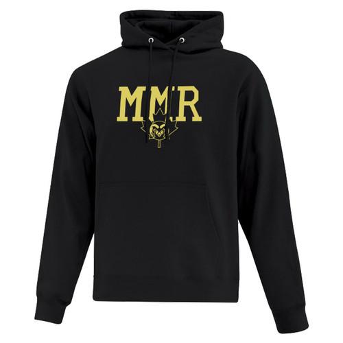 ATC Everyday Fleece Hooded Sweatshirt - Black (MMR-011-BK)