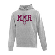 MMR ATC Everyday Fleece Hooded Sweatshirt - Athletic Heather(MMR-011-AH)