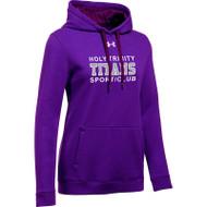 HTT Under Armour Women's Hustle Fleece Hoody - Purple (HTT-021-PU)
