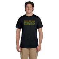 HNM Gildan Adult Ultra Cotton T-Shirt - Black (HNM-011-BK)