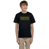 HNM Gildan Youth Ultra Cotton T-Shirt - Black (HNM-046-BK)