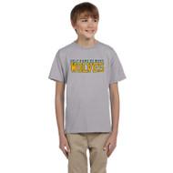 HNM Gildan Youth Ultra Cotton T-Shirt - Sport Grey (HNM-046-SG)
