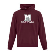 SMO ATC Everyday Fleece Hooded Men's Sweatshirt - Maroon (SMO-013-MA)