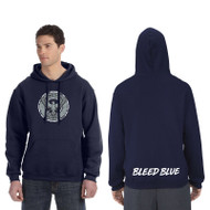 KSS Russell Adult Dri-Power Fleece Hoodie - Navy (KSS-011-NY)