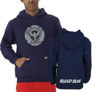 KSS Russell Youth Dri-Power Fleece Hoodie - Navy (KSS-046-NY)