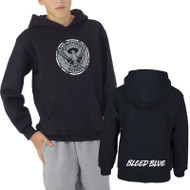 KSS Russell Youth Dri-Power Fleece Hoodie - Black (KSS-046-BK)