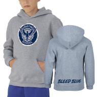 KSS Russell Youth Dri-Power Fleece Hoodie - Oxford (KSS-046-OX)