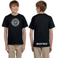 KSS Gildan Youth Ultra Cotton Short Sleeve T-Shirt - Black (KSS-048-BK)